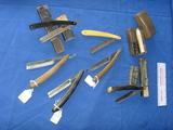 6 shaving folding razors