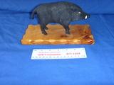 Black boar figure