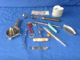 10 assorted kitchen vintage utensils