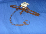 Vintage Victor Double Long Double Spring Trap Rustic