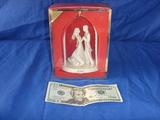 2001 Lenox figurine bride and groom