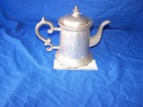 Woodberry pewter teapot