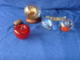 5 display/glass pieces