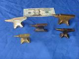 5 small anvils
