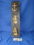 3 nautical brass door knocker's