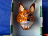 Vintage Babbacombe pottery Fox
