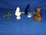4 pieces display items