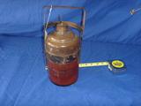 Vintage Chalwyn Glass Oil Jug Jar Bottle Spring Cap Spout