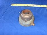 Brass firehose adapter