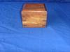 Clock and wood box