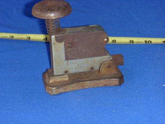 All metal stapler