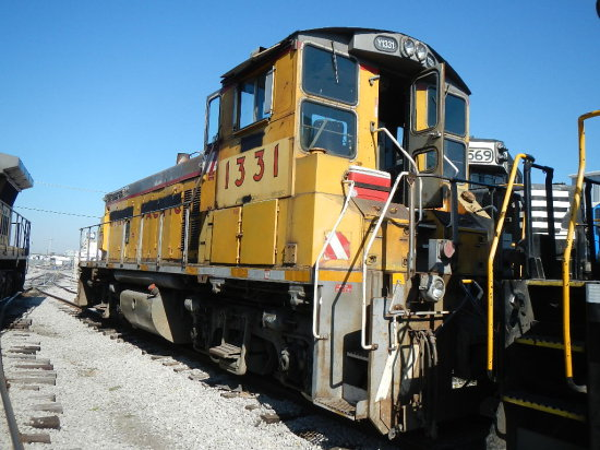 1974 EMD MP15 LOCOMOTIVE  (LOCATED AT THE MEI FACILITY IN EAST SAINT LOUIS,