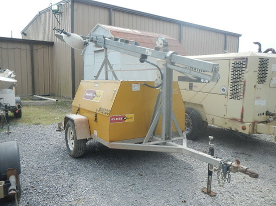 2012 CAT WC184YH 8KW Light Plant