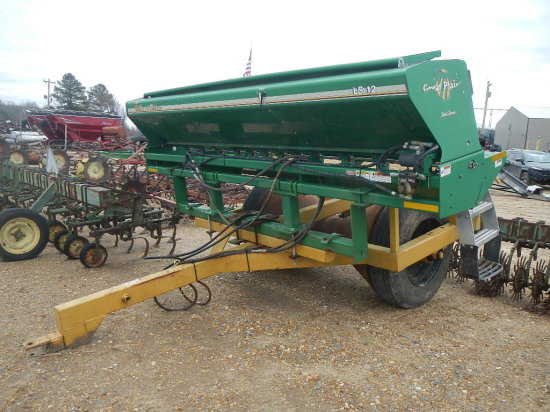 LEVEE PACKER  WITH GREAT PLAINS/LS-12 HYDRAULIC SEEDER