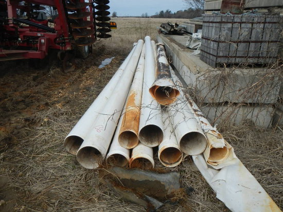 LOT OF PVC PIPE