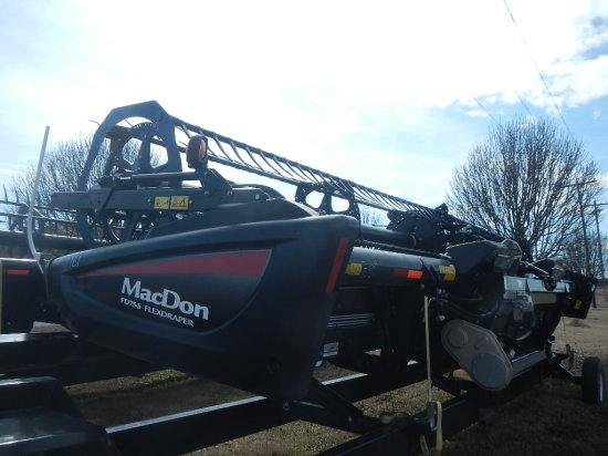 2014 MACDON FD75 HEADER,  (2) CROPS, 30' S# 253156