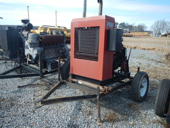 CASE/IH P110 POWER UNIT, 7402 HRS  TRAILER MOUNTED S# 20615