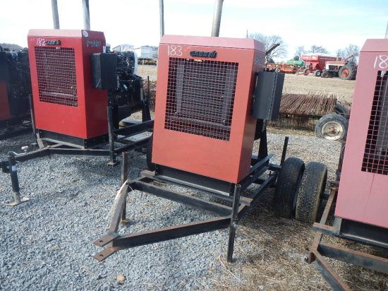CASE/IH P110 POWER UNIT, 1101 HRS  TRAILER MOUNTED S# 20809