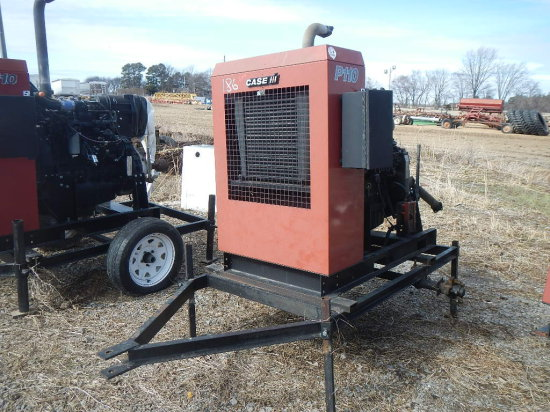 CASE/IH P110 POWER UNIT, 6730 HRS  TRAILER MOUNTED S# 22444
