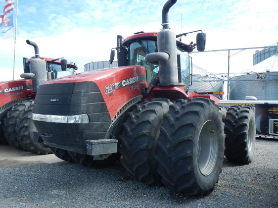 2017 CASE/IH 620HD STIEGER WHEEL TRACTOR, 276 ENGINE HRS/152 DRIVE HRS  1 C