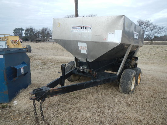 ADAMS FERTILIZER BUGGY,  TANDEM AXLE