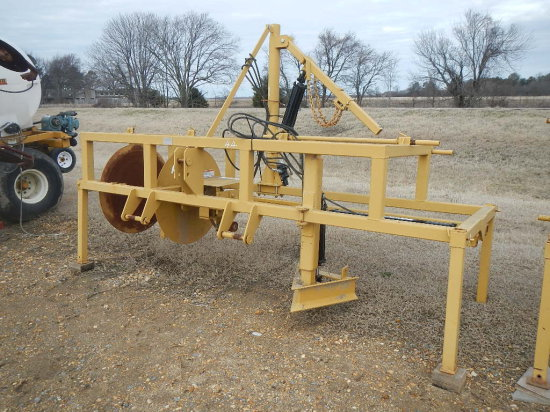 EZ-DROP LAYDOWN POLY PIPE MACHINE,  WITH HYDRAULIC BOOM S# 3158