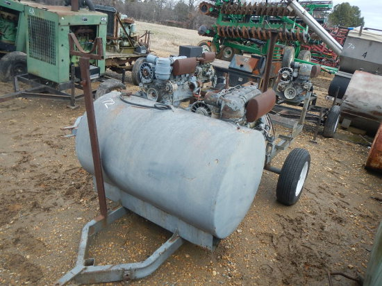 DEUTZ F4L912 POWER UNIT  TRAILER MOUNTED WITH FUEL TANK S# 6209