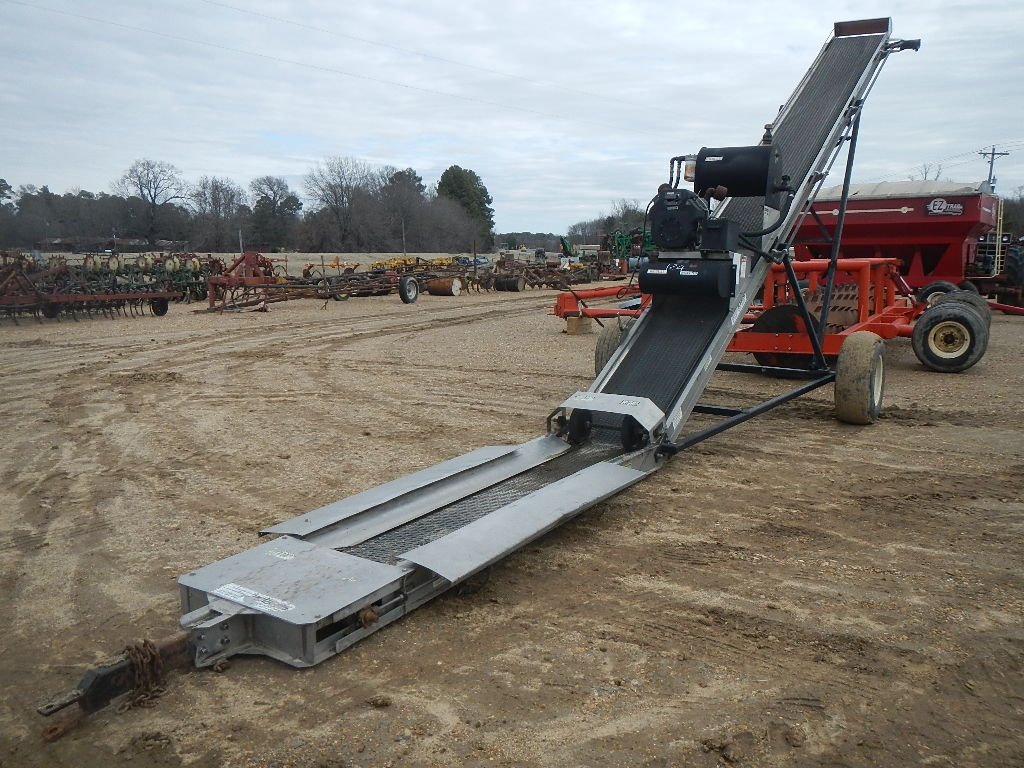 "ADAMS LOADING CONVEYOR,  22"" BELT, 20 HP GAS ENGINE WITH ELECTRIC START"