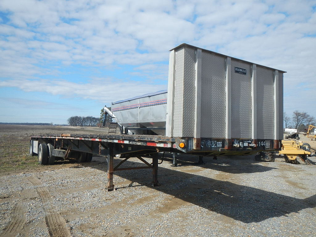1993 FONTAINE 48' COMBO FLATBED TRAILER, S# 555589