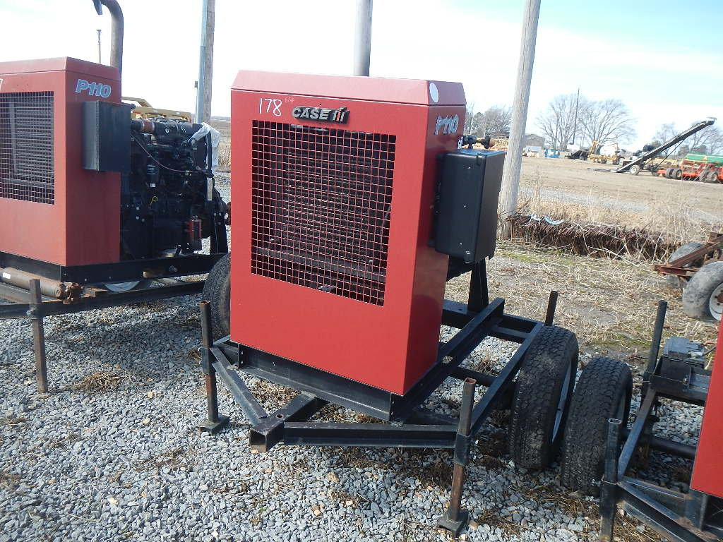 CASE/IH P110 POWER UNIT, 7402 HRS  TRAILER MOUNTED S# 24487