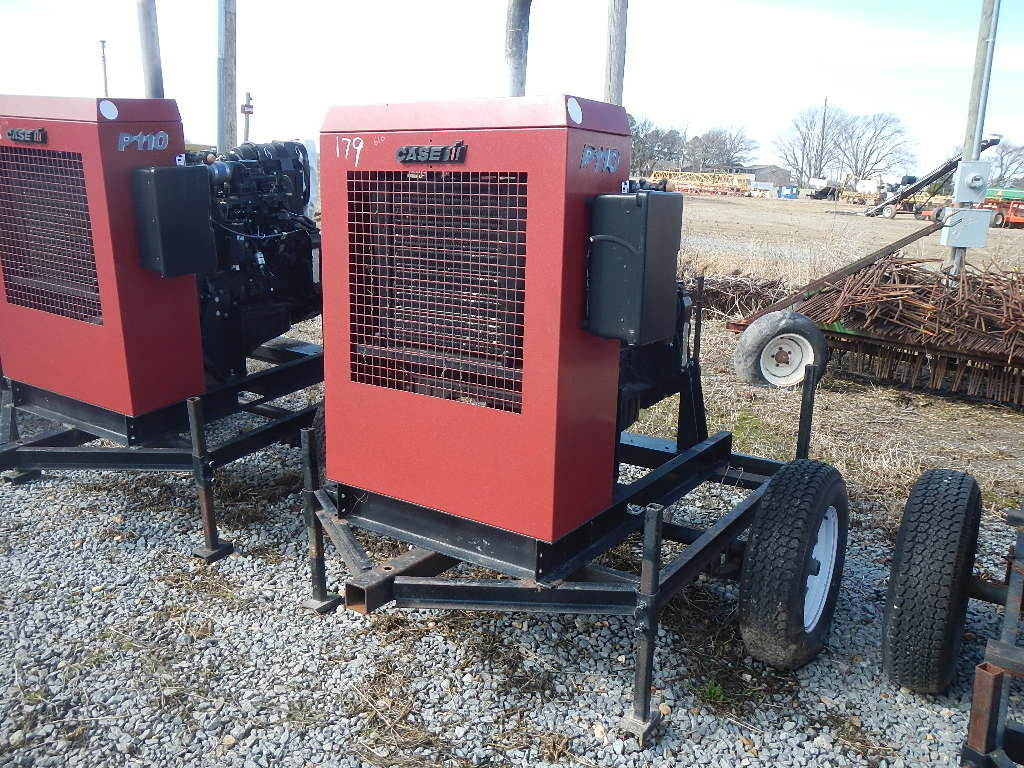 CASE/IH P110 POWER UNIT, 4855 HRS  TRAILER MOUNTED S# 24526