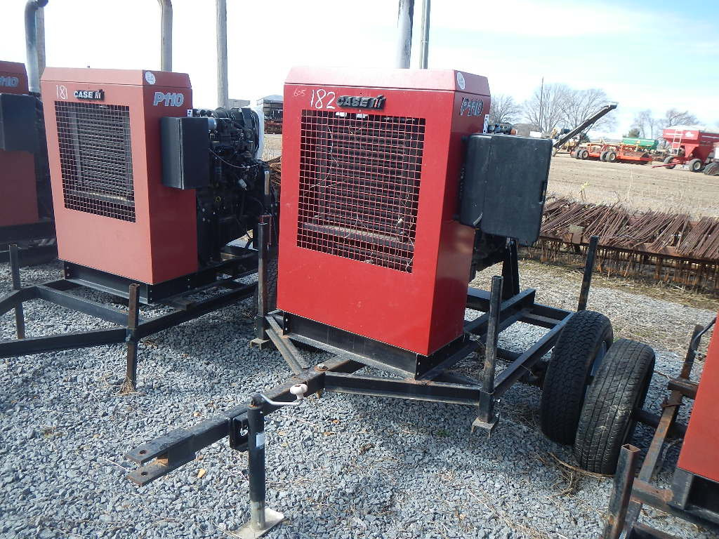2007 CASE/IH P110 POWER UNIT, 1761 HRS  TRAILER MOUNTED S# 24486