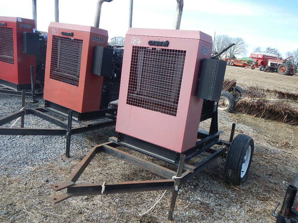 CASE/IH P110 POWER UNIT, 6324 HRS  TRAILER MOUNTED S# 20808