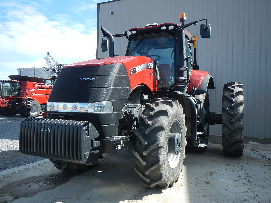 CASE/IH MX340 WHEEL TRACTOR, 205 ENGINE HRS/128 DRIVE HRS  MWFD, CAB, AC, H