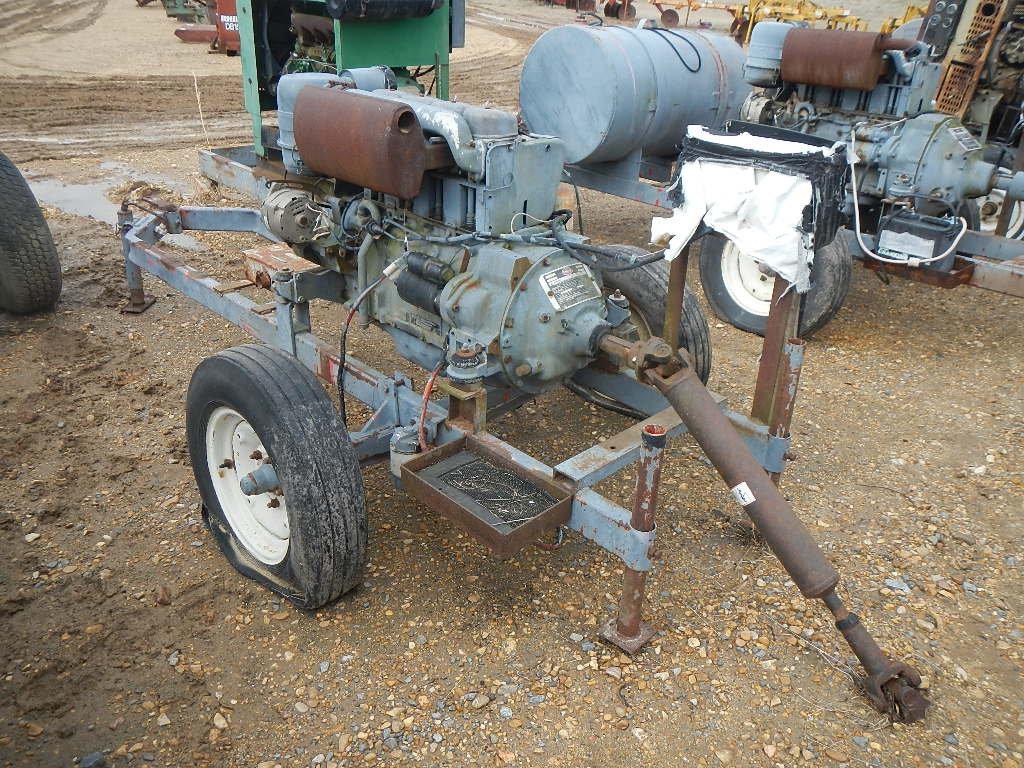 DEUTZ F4L912 POWER UNIT  TRAILER MOUNTED S# 4769