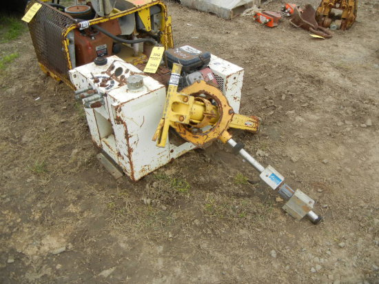 STANLEY HYDRAULIC SPIKE PULLER  AND POWER PACK