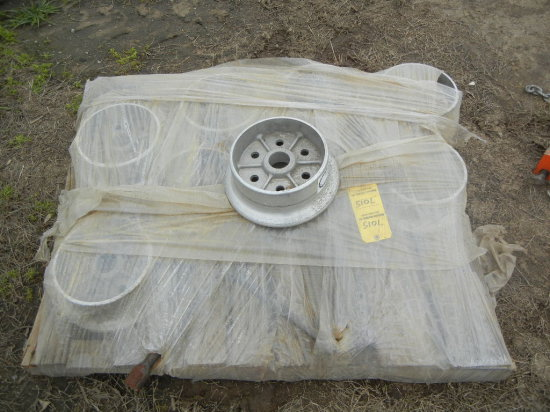 PALLET OF TAMPER BUGGY WHEELS