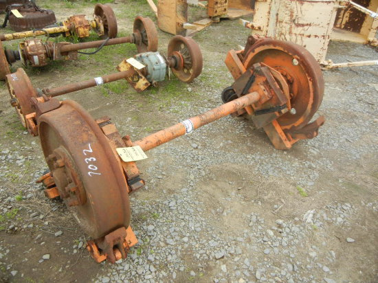 RAIL AXLE  WITH AIR BRAKES
