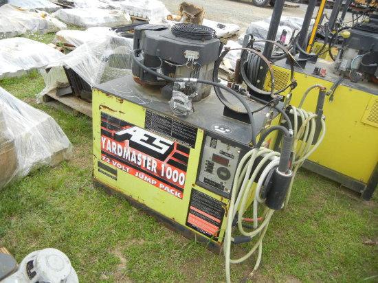 AES YARD MASTER 1000 JUMP PACK,  72-VOLT, 27-HP LP GAS ENGINE, SKID MOUNTED