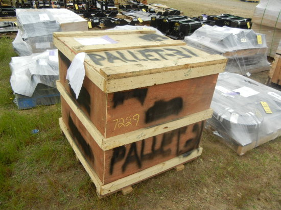 CRATE WITH BLOCK, MTG, CARRIAGE BOLT THRU