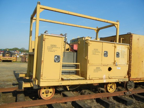 WATER WAGON PUSH CAR  WITH HOSE REEL LOAD OUT FEE: $100.00