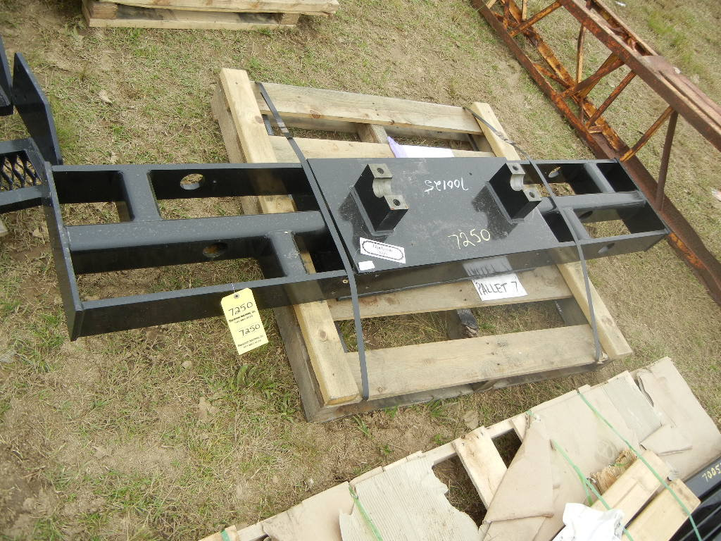 PALLET WITH TRUNION GAUGER FRAME