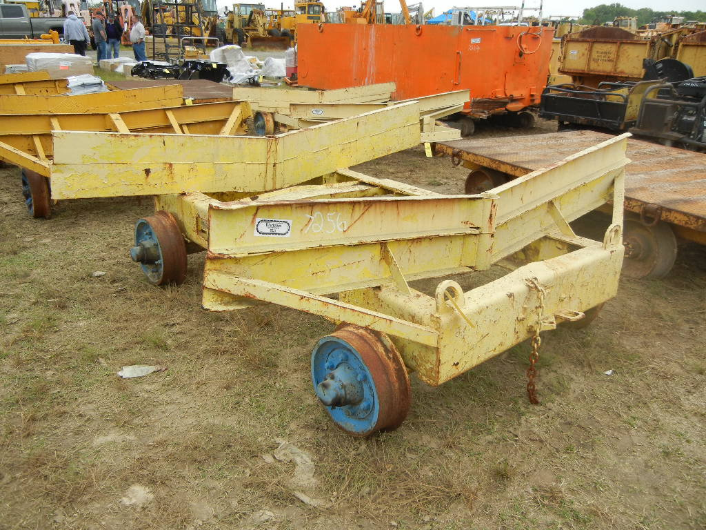 RAIL CART WITH  TIE RACKS