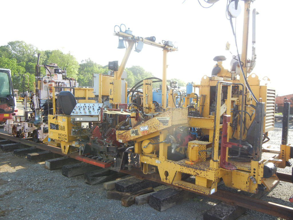 RMC 306-2 ANCHOR BOXER MACHINE,  CUMMINS DIESEL LOAD OUT FEE: $150.00 S# 25