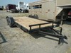 "2018 NORTHSHORE TRAILER,  6' 10"" X 18', TANDEM AXLE, ELECTRIC BRAKES, 2' DO"