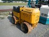 "WACKER RT VIBRATORY PADFOOT ROLLER,  LOMBARDINI DIESEL ENGINE, 33"" DRUMS S#"