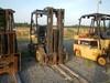 2001 DAEWOO G25P-3 FORKLIFT,  LP GAS, 3-STAGE, SIDE SHIFT, 4' FORKS, 5000 L