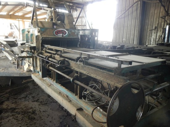 """CROSBY 4306T EDGER WITH LASER LIGHTS, 42"""" OFF BEARING DECK, ELECTRIC MOTOR,"""