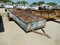 SHOPBUILT UTILITY TRAILER,  16', METAL SIDE S# N/A