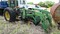 JOHN DEERE WHEEL TRACTOR,  PTO REMOTES WITH BEND LOADER (NEEDS REPAIR ) NOT